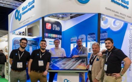 AkeBoose at Envase 2019 in Buenos Aires, Argentina