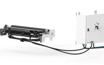 AkeBoose EPQ 200 ink supply system connected to chamber doctor blade system
