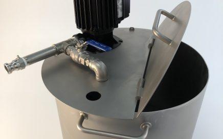 Flexible pump unit set up