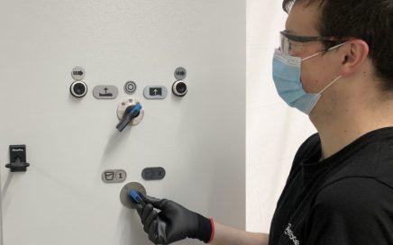 EPQ 300 control panel