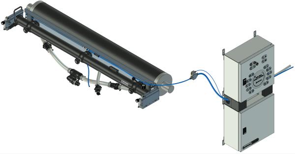 End seal spray system on NOVA XLS