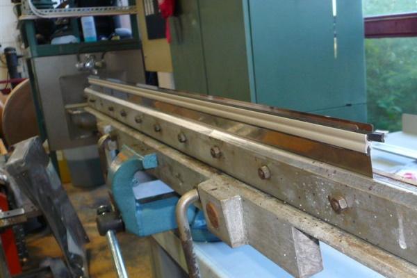 AkeBoose rotogravure blade holders installed