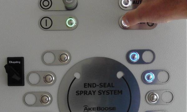 End-seal Spray System