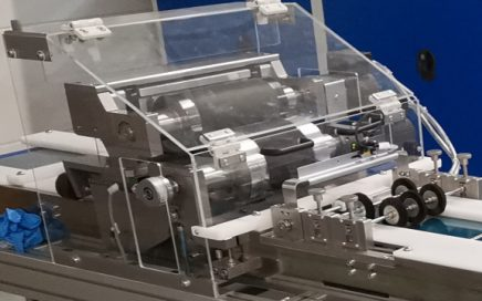 Printing unit for the application of graphite compound