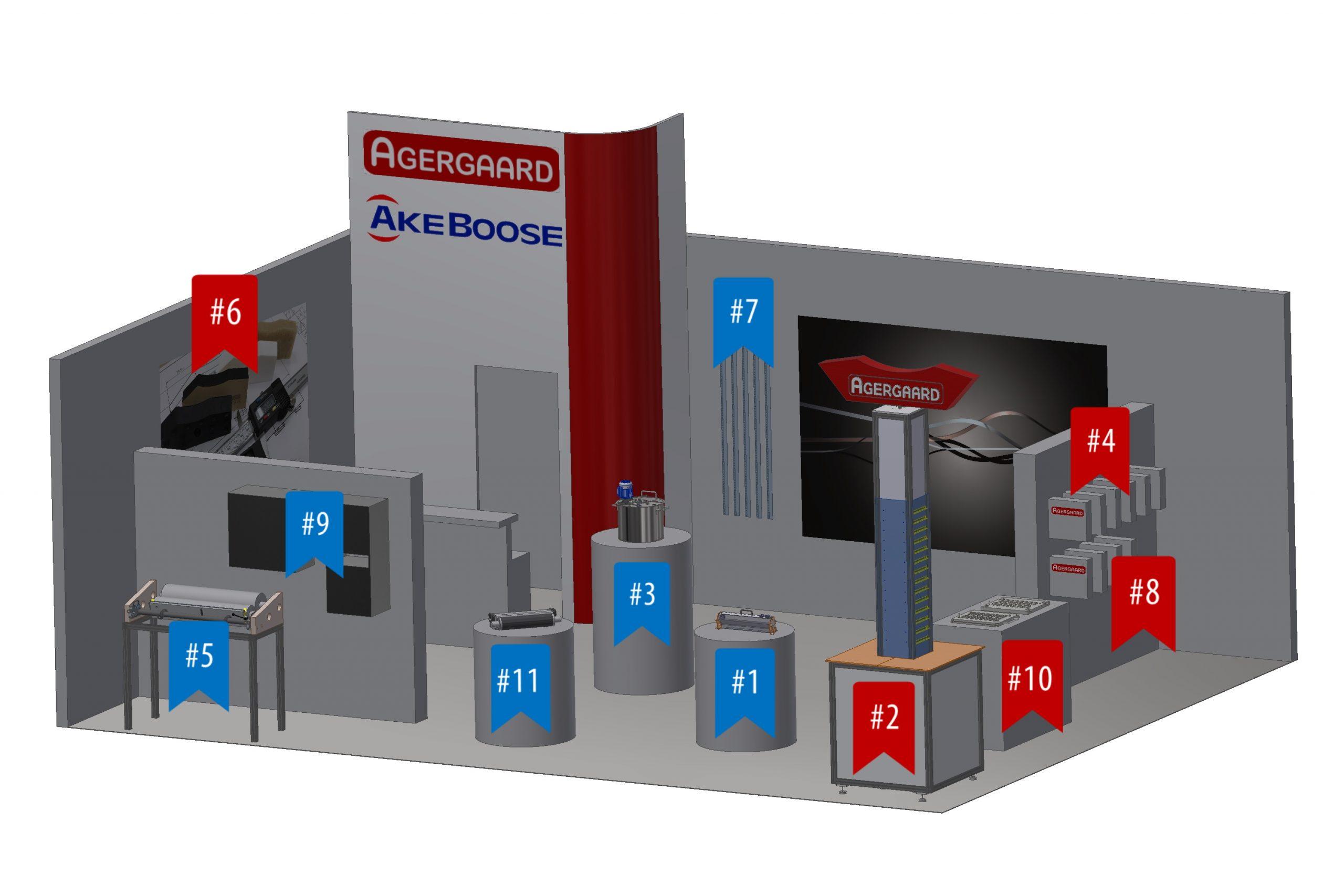 Akeboose virtual drupa booth