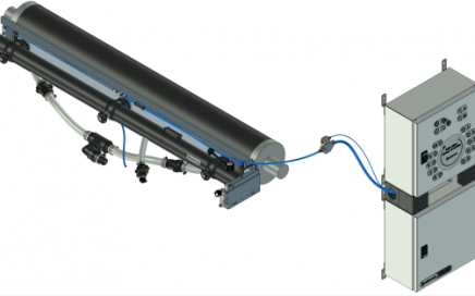 Setup of the End-seal Spray System