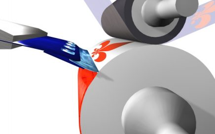AkeBoose blade holders principle for rotogravure printing